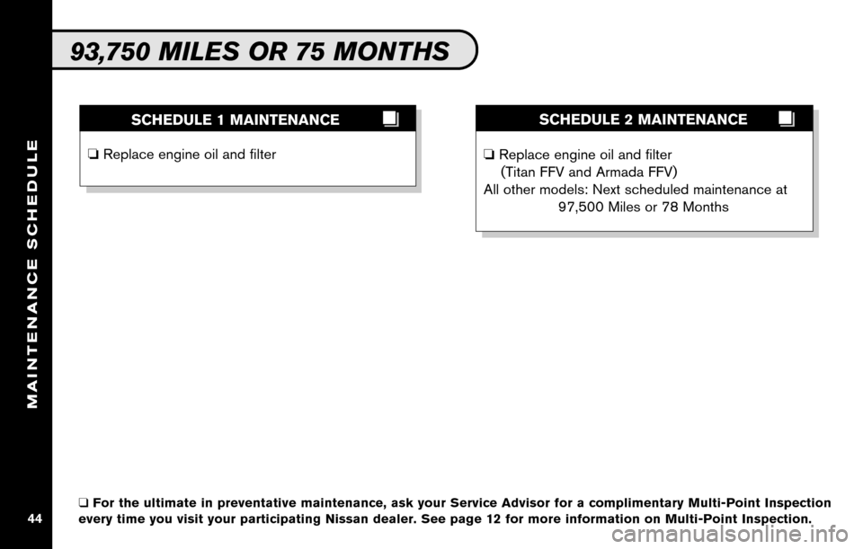 NISSAN ALTIMA COUPE 2010 D32 / 4.G Service And Maintenance Guide, Page 46