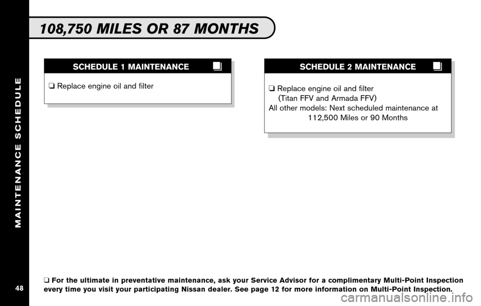 NISSAN ALTIMA COUPE 2010 D32 / 4.G Service And Maintenance Guide, Page 50