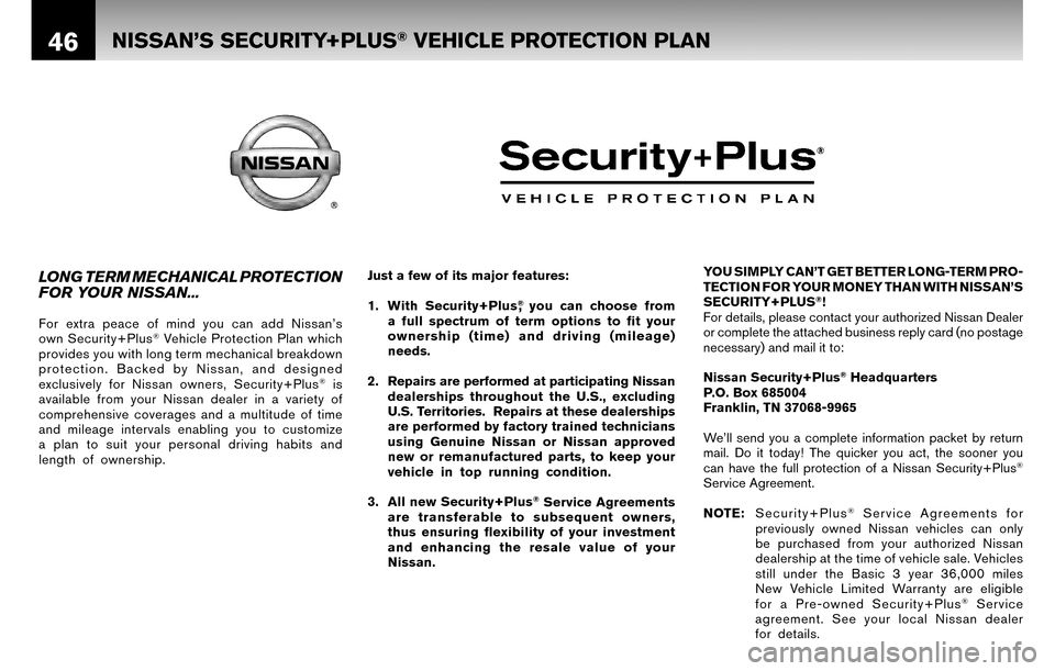 NISSAN VERSA HATCHBACK 2010 1.G Warranty Booklet