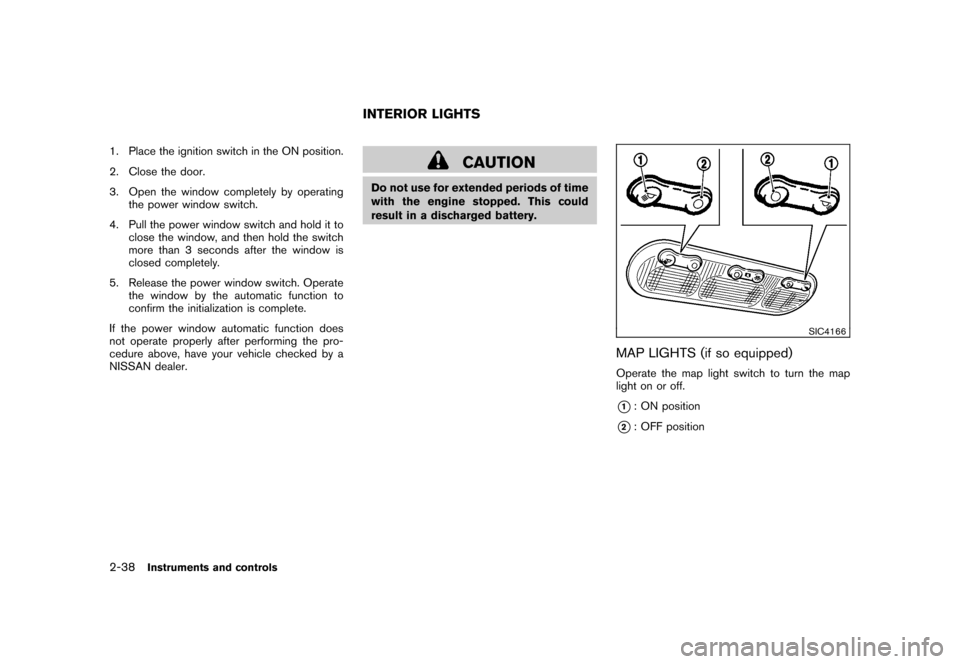 NISSAN CUBE 2010 3.G Owners Manual, Page 112