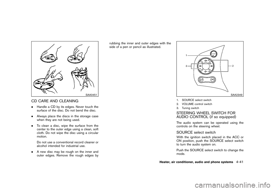 NISSAN CUBE 2010 3.G Owners Manual, Page 183