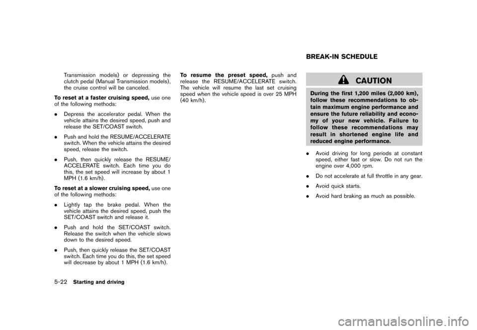 NISSAN CUBE 2010 3.G Owners Manual, Page 222