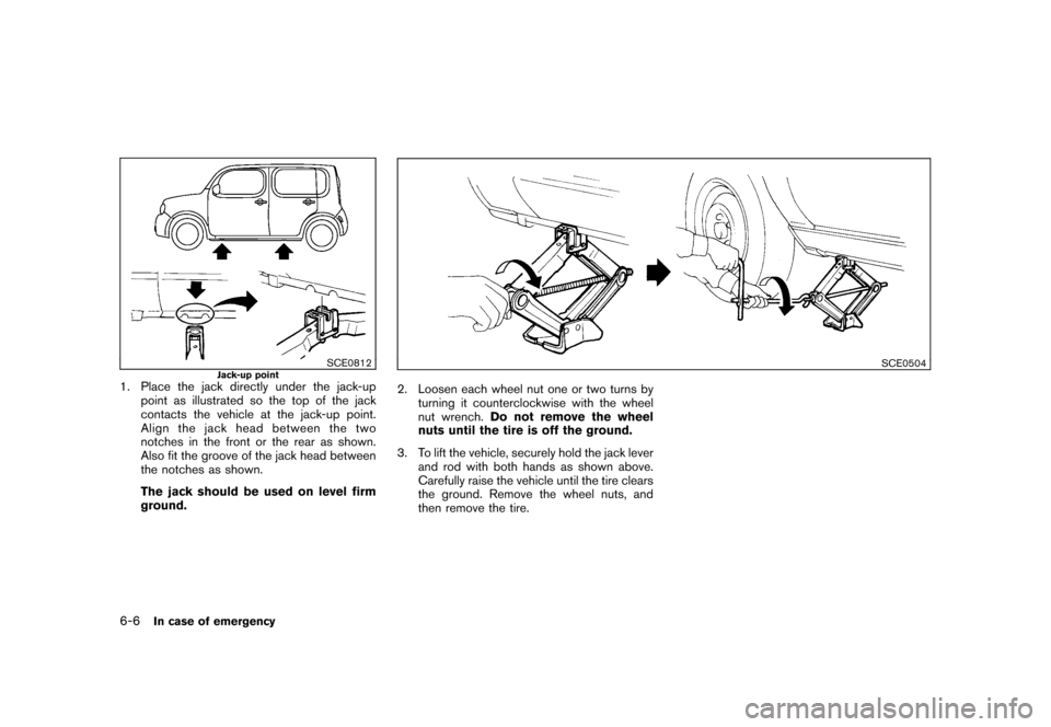 NISSAN CUBE 2010 3.G Owners Manual, Page 238