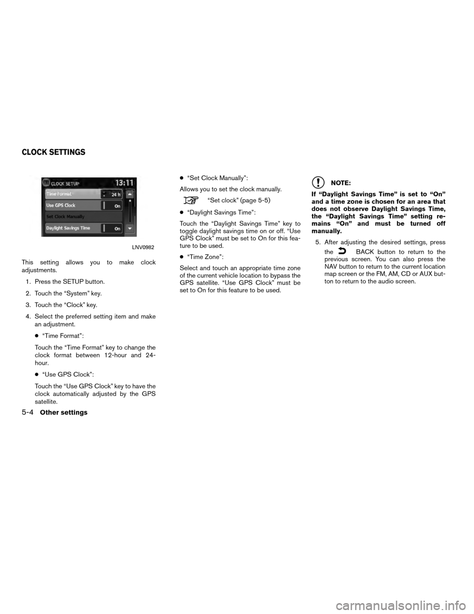 NISSAN VERSA 2010 1.G LC Navigation Manual, Page 61