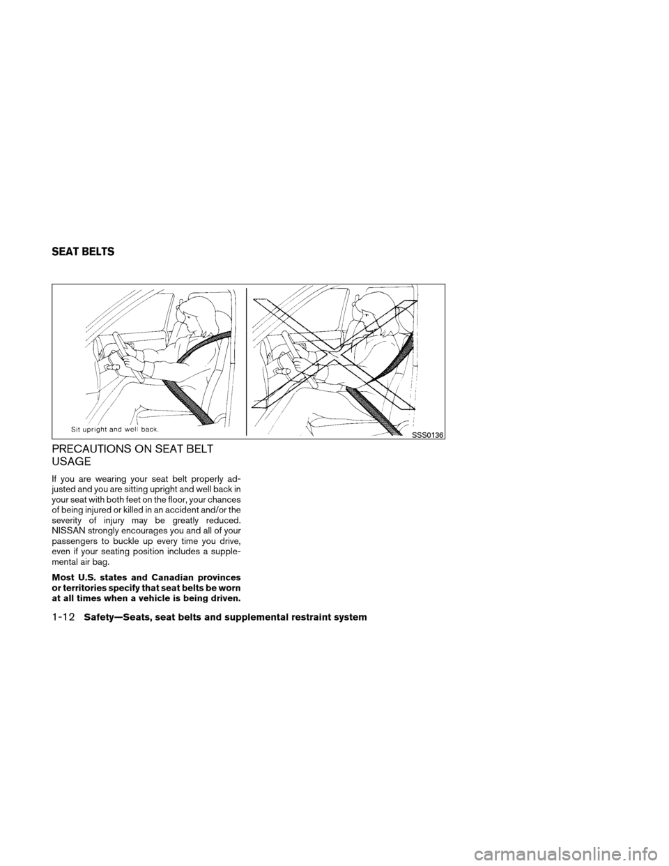 NISSAN VERSA HATCHBACK 2010 1.G Owners Manual, Page 31