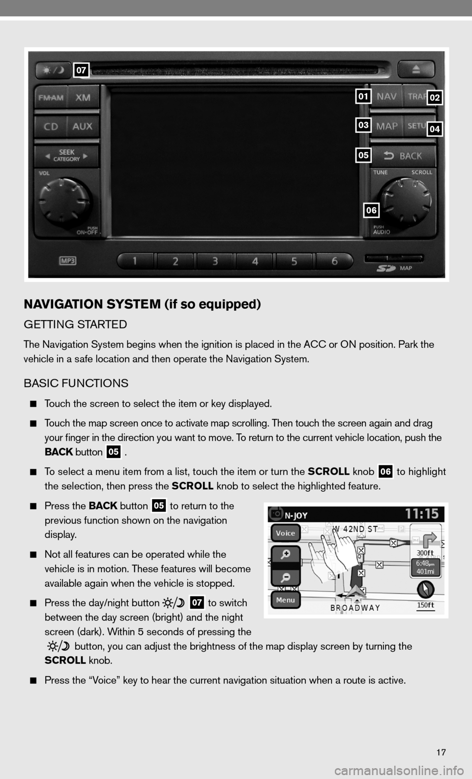 NISSAN VERSA HATCHBACK 2010 1.G Quick Reference Guide, Page 19