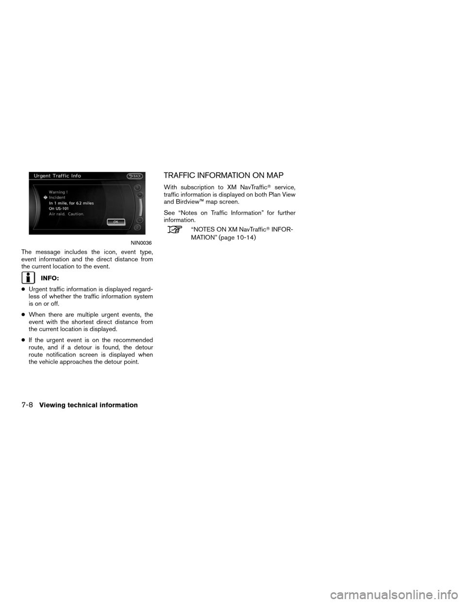 NISSAN ALTIMA COUPE 2011 D32 / 4.G Navigation Manual, Page 196