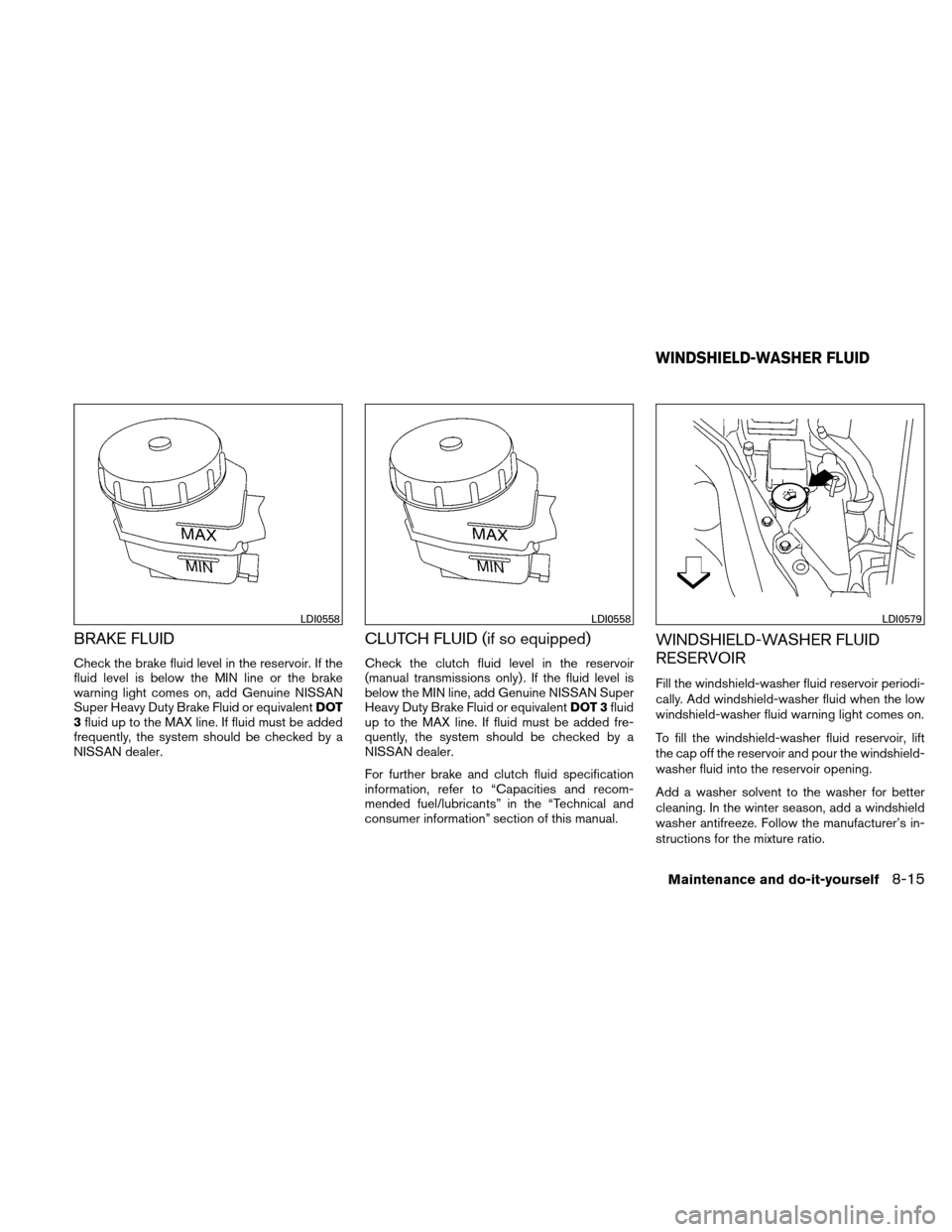 NISSAN ALTIMA COUPE 2011 D32 / 4.G Owners Manual, Page 374