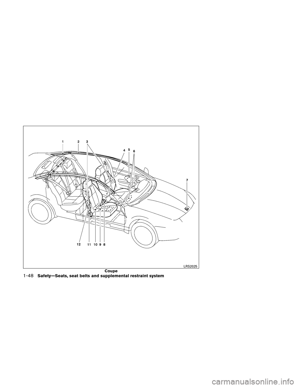 NISSAN ALTIMA COUPE 2011 D32 / 4.G Owners Manual, Page 67
