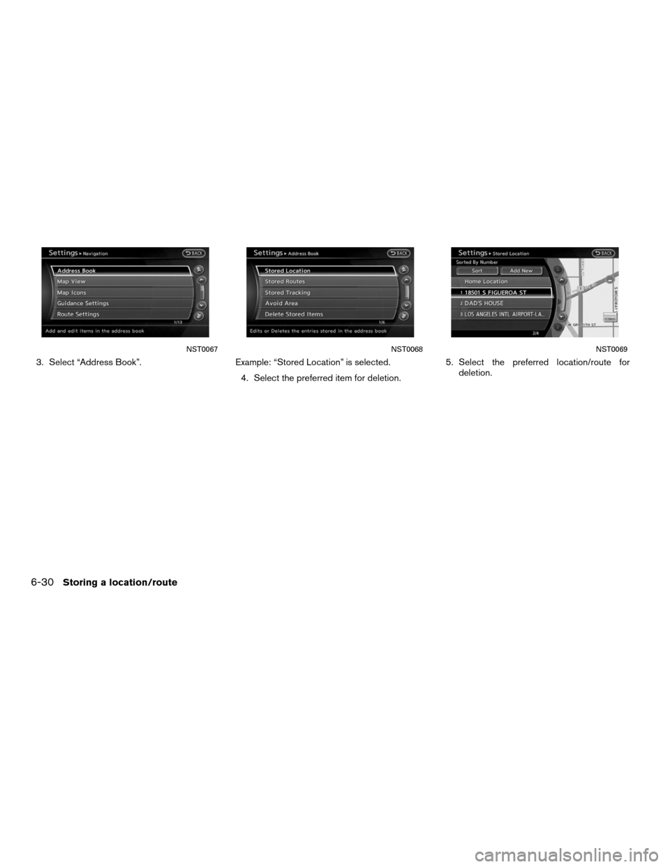 NISSAN ALTIMA HYBRID 2011 L32A / 4.G Navigation Manual, Page 180
