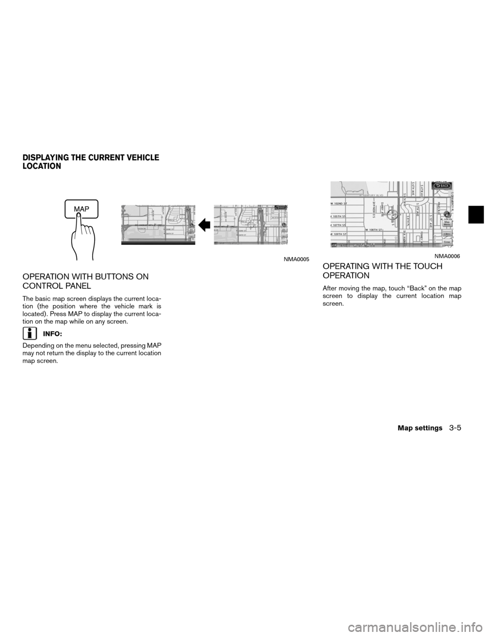 NISSAN ALTIMA HYBRID 2011 L32A / 4.G Navigation Manual, Page 51