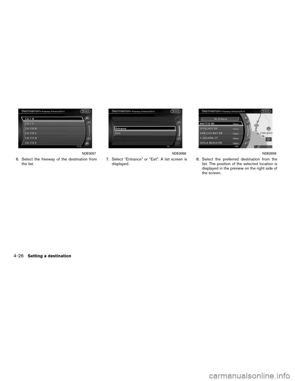 NISSAN ALTIMA HYBRID 2011 L32A / 4.G Navigation Manual, Page 100