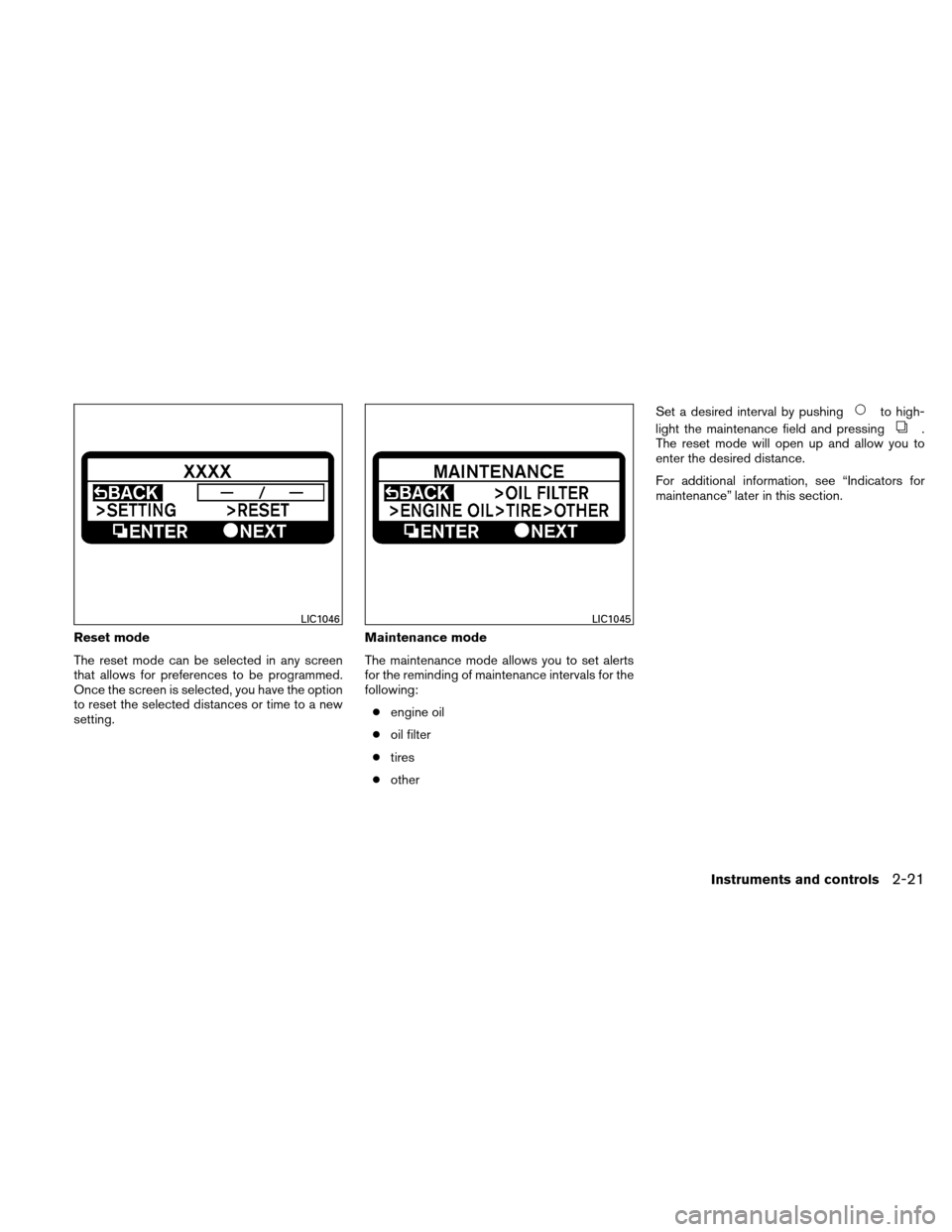 NISSAN ALTIMA HYBRID 2011 L32A / 4.G Owners Manual, Page 102