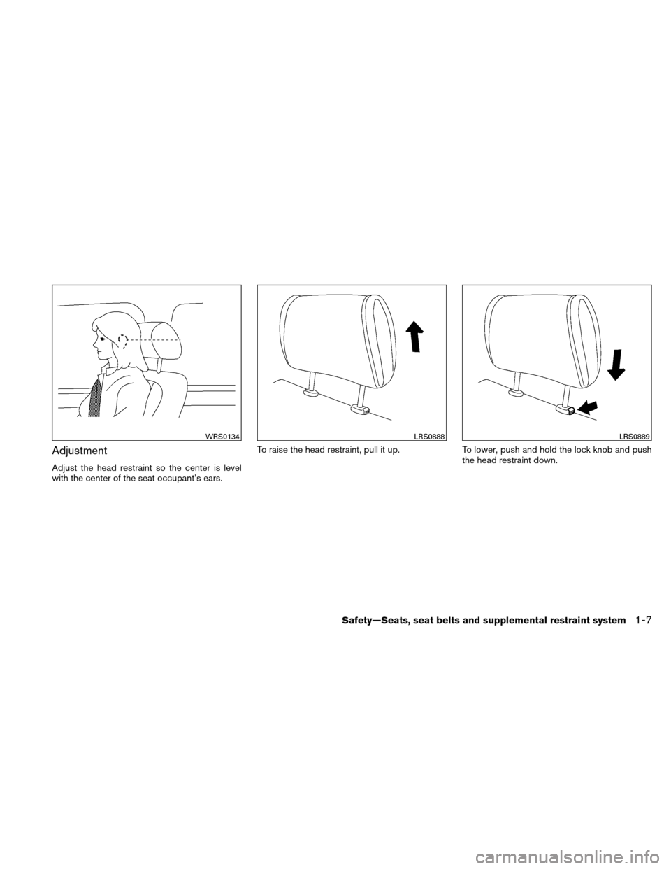 NISSAN ALTIMA HYBRID 2011 L32A / 4.G Owners Manual, Page 36