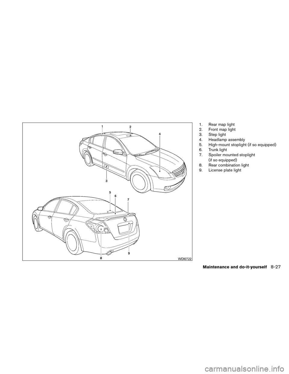 NISSAN ALTIMA HYBRID 2011 L32A / 4.G Owners Manual, Page 368
