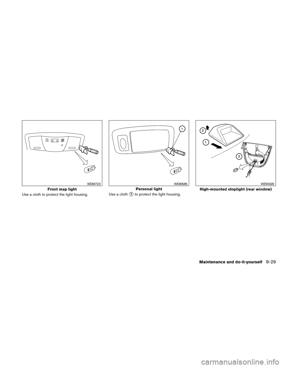 NISSAN ALTIMA HYBRID 2011 L32A / 4.G Owners Manual, Page 370