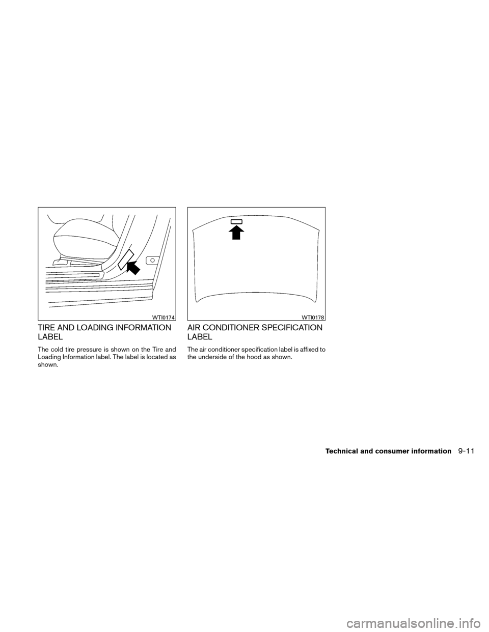 NISSAN ALTIMA HYBRID 2011 L32A / 4.G Owners Manual, Page 396