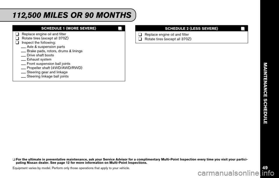 NISSAN CUBE 2011 3.G Service And Maintenance Guide, Page 51