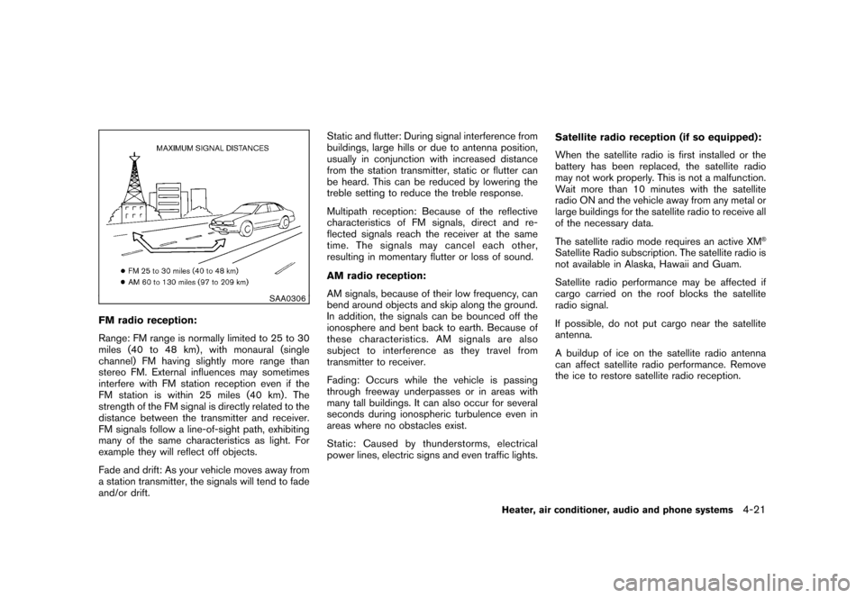 NISSAN CUBE 2011 3.G Owners Manual, Page 169