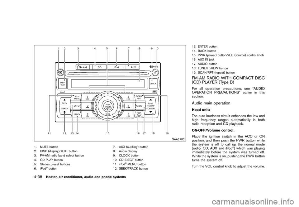 NISSAN CUBE 2011 3.G Owners Manual, Page 186