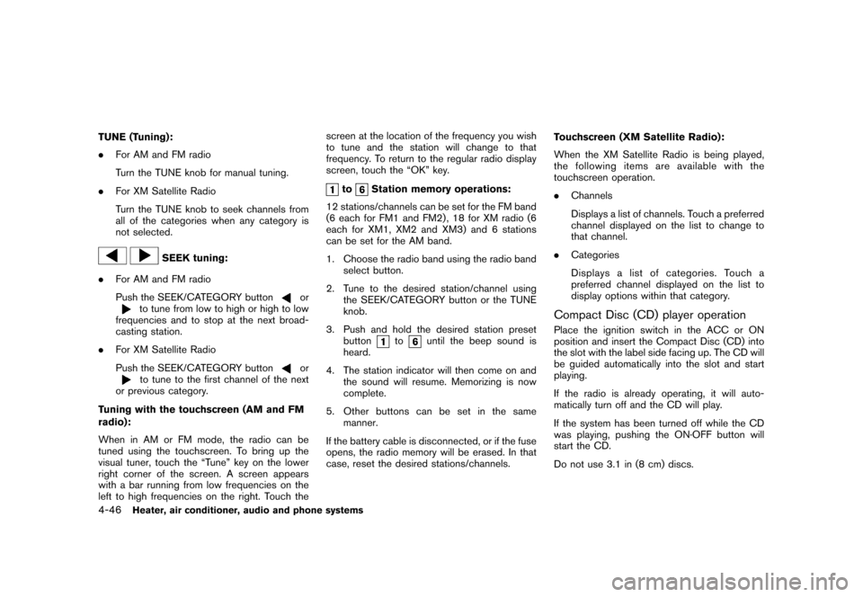 NISSAN CUBE 2011 3.G Owners Manual, Page 194
