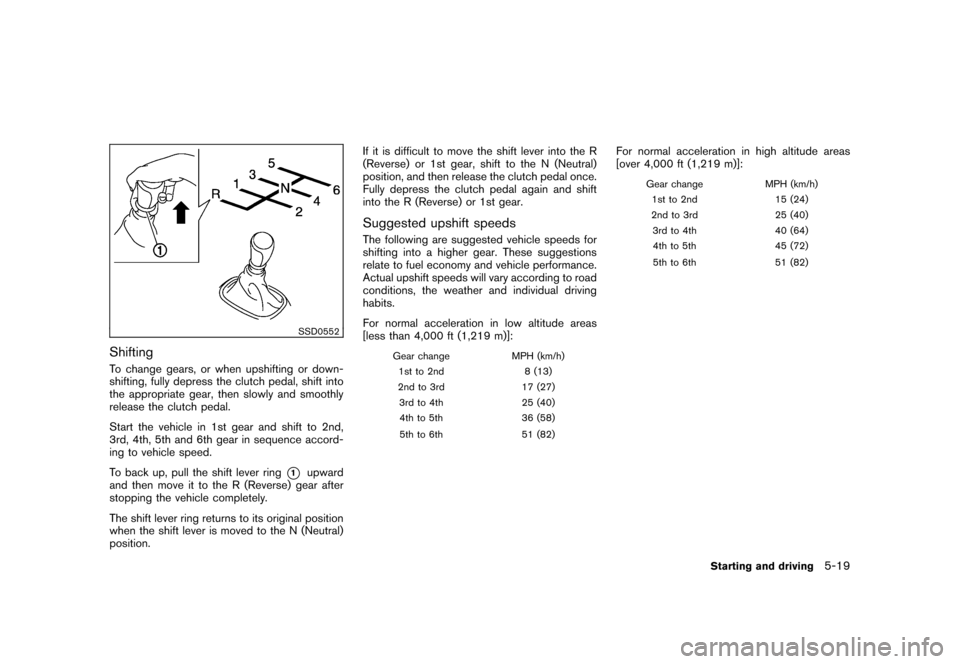 NISSAN CUBE 2011 3.G Owners Manual, Page 235