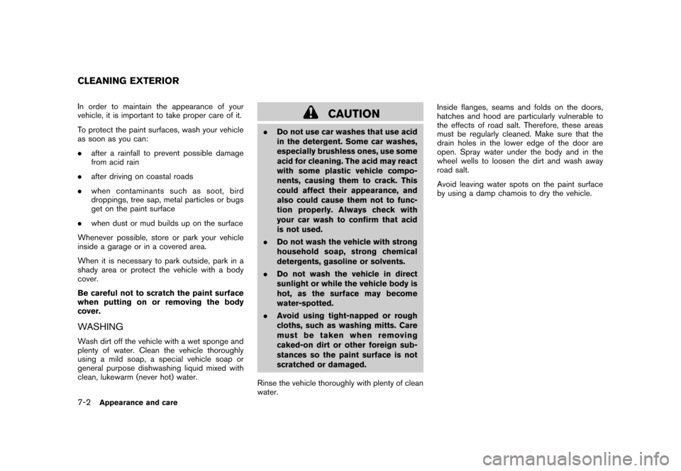 NISSAN CUBE 2011 3.G Owners Manual, Page 268