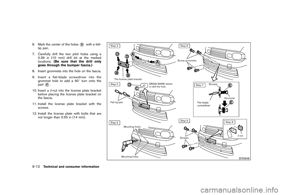 NISSAN CUBE 2011 3.G Owners Manual, Page 326