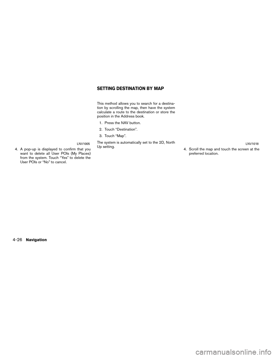 NISSAN SENTRA 2011 B16 / 6.G LC Navigation Manual, Page 54