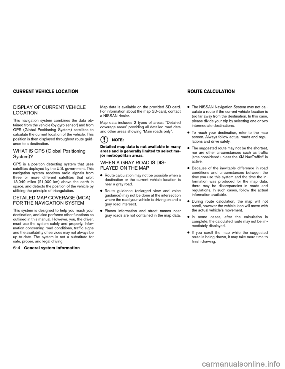 NISSAN CUBE 2011 3.G LC Navigation Manual, Page 70