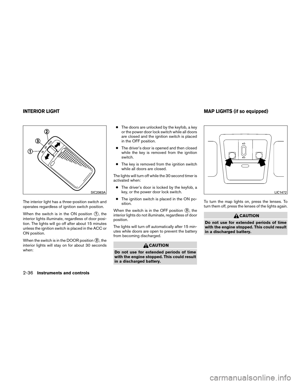 NISSAN VERSA HATCHBACK 2011 1.G Owners Manual, Page 113