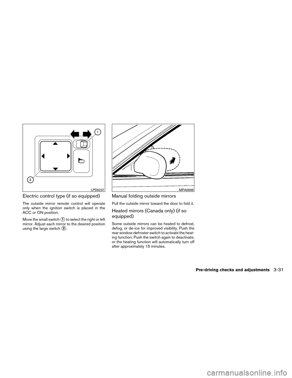 NISSAN VERSA HATCHBACK 2011 1.G Owners Manual, Page 146