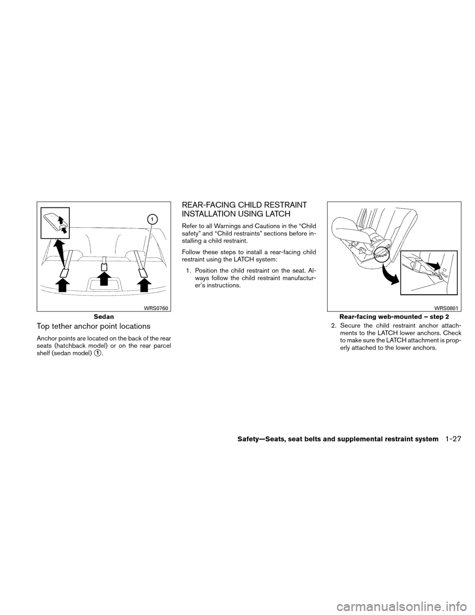 NISSAN VERSA HATCHBACK 2011 1.G Owners Manual, Page 46