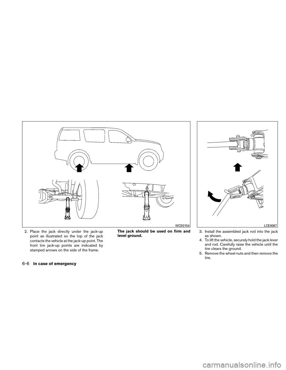 NISSAN XTERRA 2011 N50 / 2.G Owners Manual, Page 241