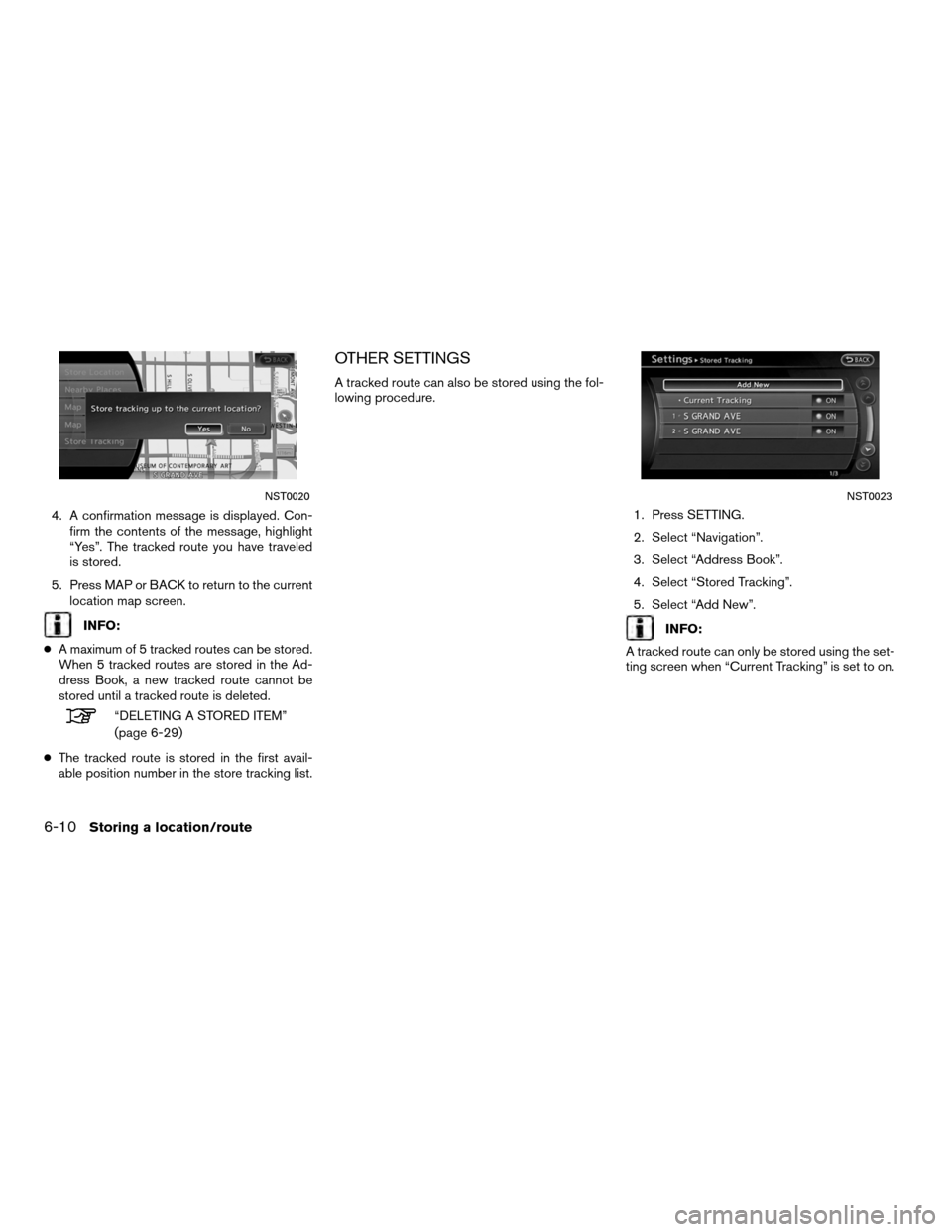 NISSAN ALTIMA COUPE 2012 D32 / 4.G Navigation Manual, Page 158