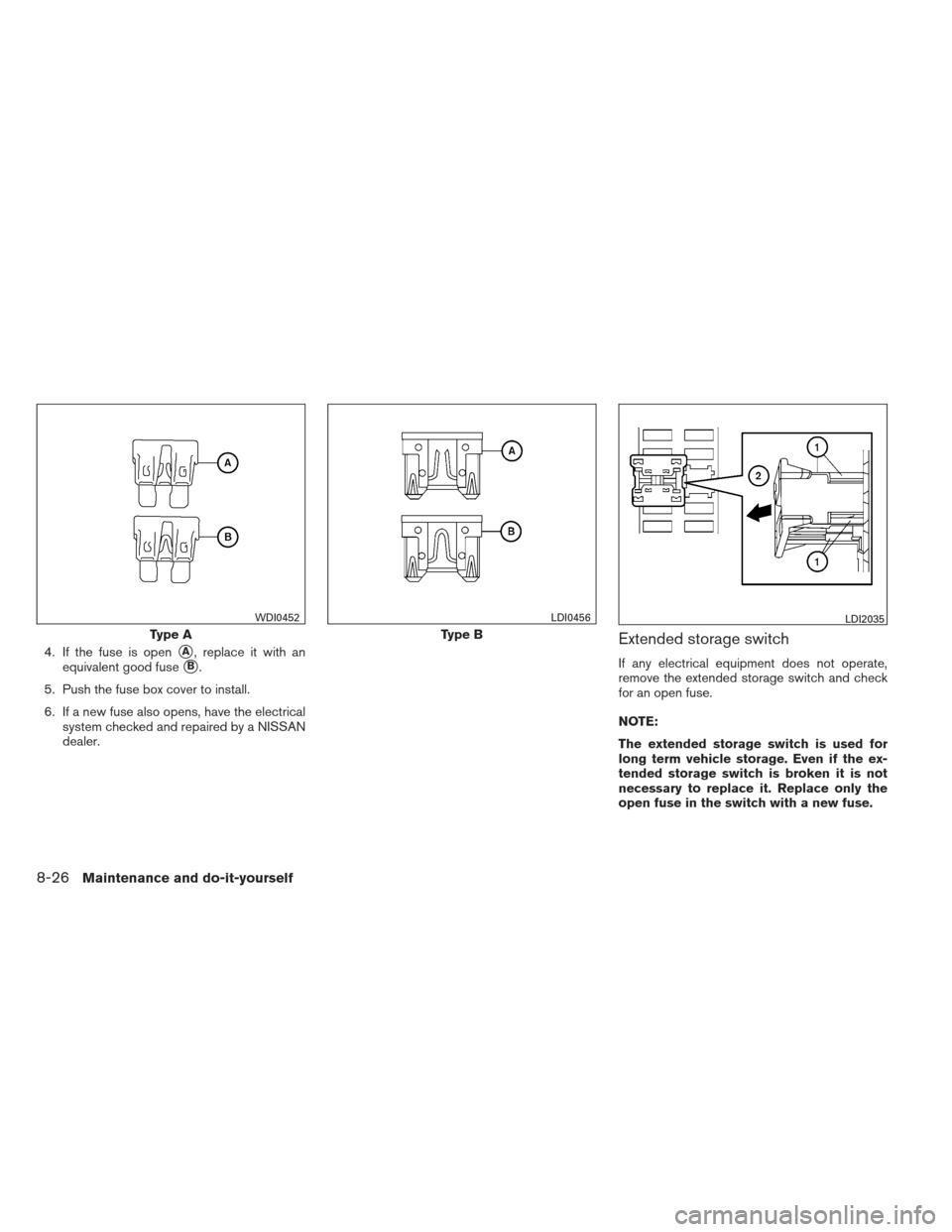 Nissan Altima 2013 L33 5 Owners Manual Fuse Box Diagram Image 2014