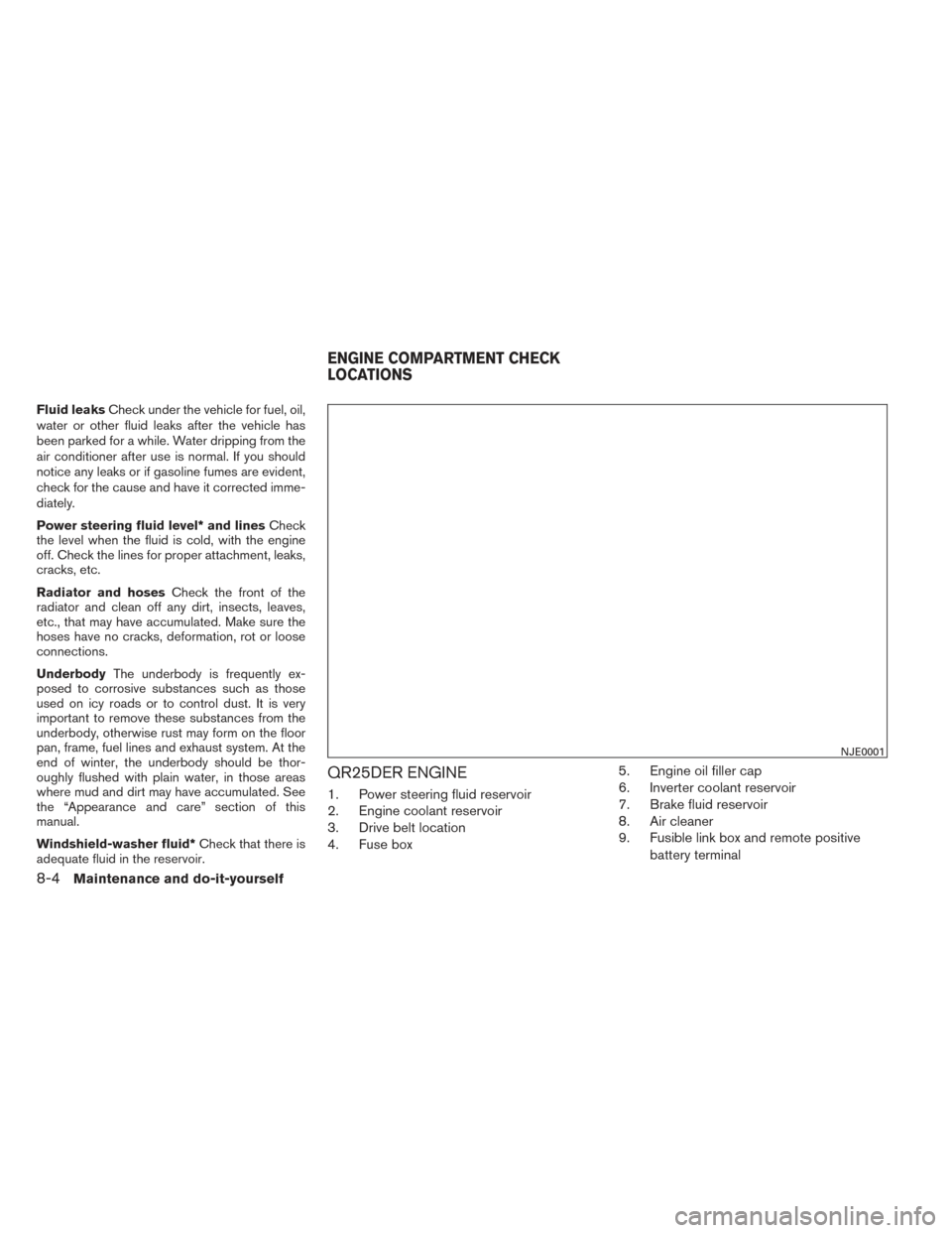 NISSAN PATHFINDER HYBRID 2014 R52 / 4.G Owners Manual, Page 59