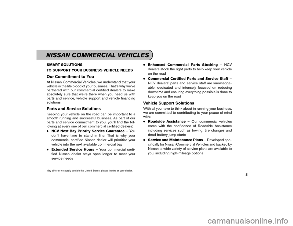 NISSAN GT-R 2016 R35 Service And Maintenance Guide, Page 6