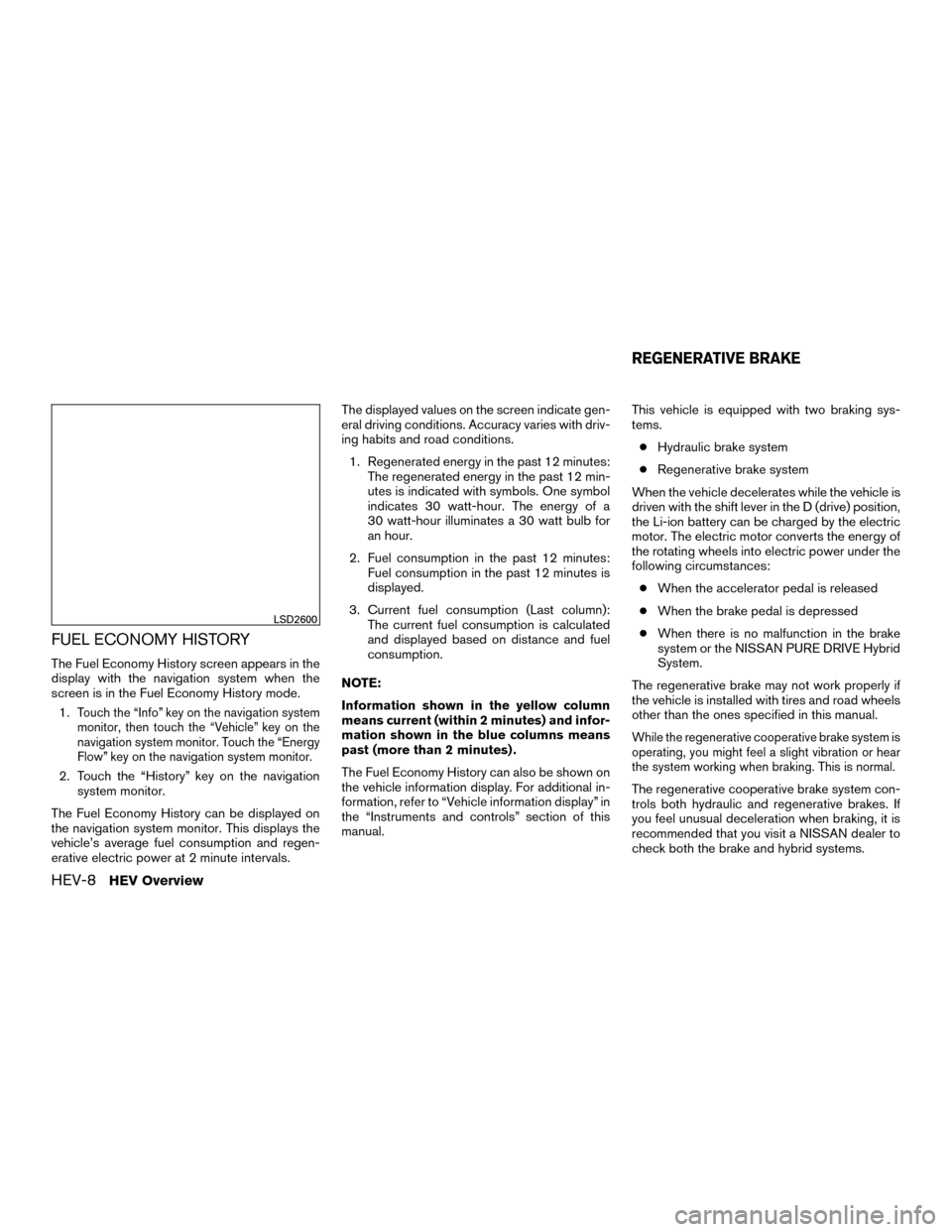NISSAN MURANO HYBRID 2016 3.G Owners Manual, Page 15