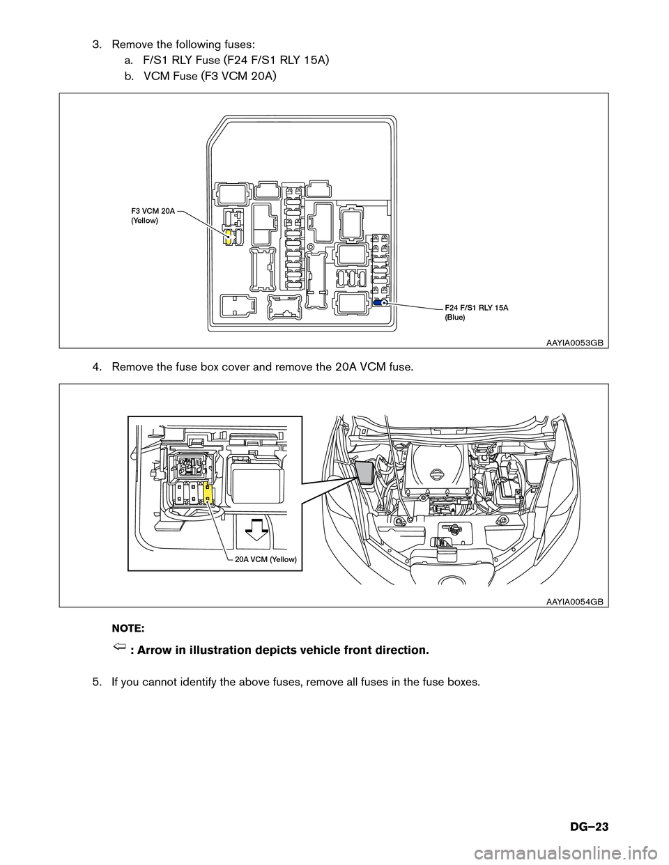 Nissan Leaf Fuse Box Diagram Detailed Wiring Diagrams 2013 Juke 2017 1 G Dismantling Guide Pathfinder