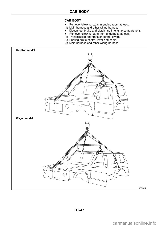 Wiring Diagram Nissan Patrol 160 Jeep Wire Diagram Coils Marine ...