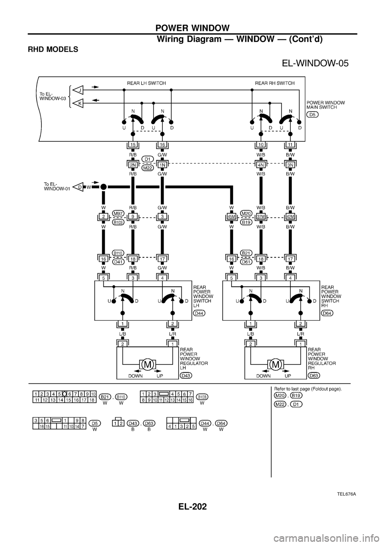 nissan patrol 1998 y61    5 g electrical system workshop manual