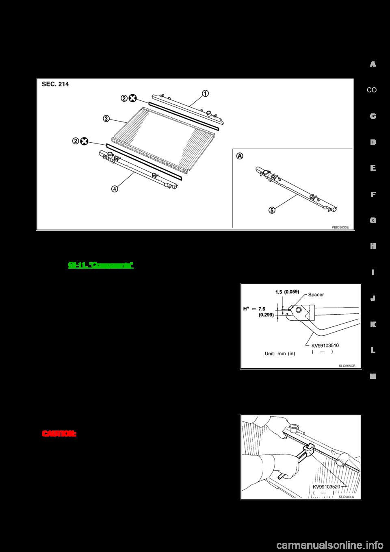 Nissan 350z 2007 Z33 Engine Cooling System Workshop Manual Coolant Diagram