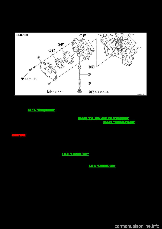 Nissan 350z 2007 Z33 Engine Lubrication System Workshop Manual 4 6 Oil Diagram