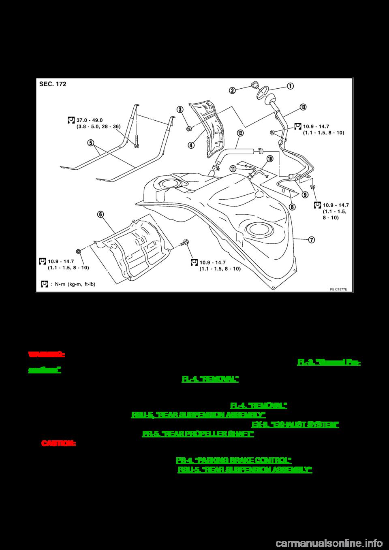 NISSAN 350Z 2007 Z33 Fuel System Workshop Manual (12 Pages) [ 1358 x 960 Pixel ]