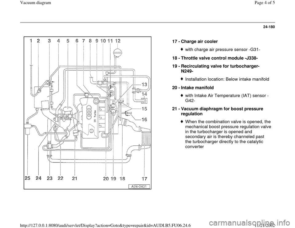 audi a6 1996 c5 2 g atw engine vacuum diagram workshop manual page 4 of 5 audi a6 1996 c5 2 g atw engine vacuum diagram workshop manual page