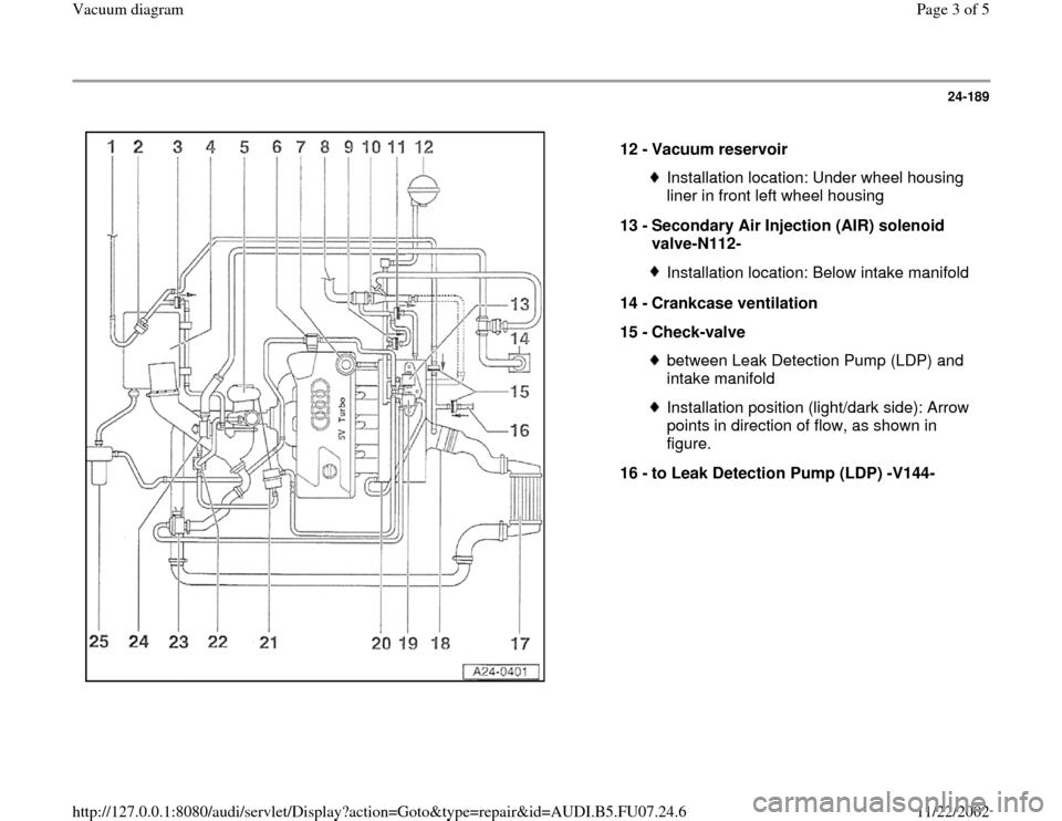 audi a4 parts list pdf
