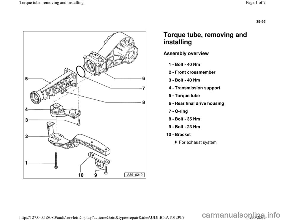 audi a6 c5 service manual pdf free download
