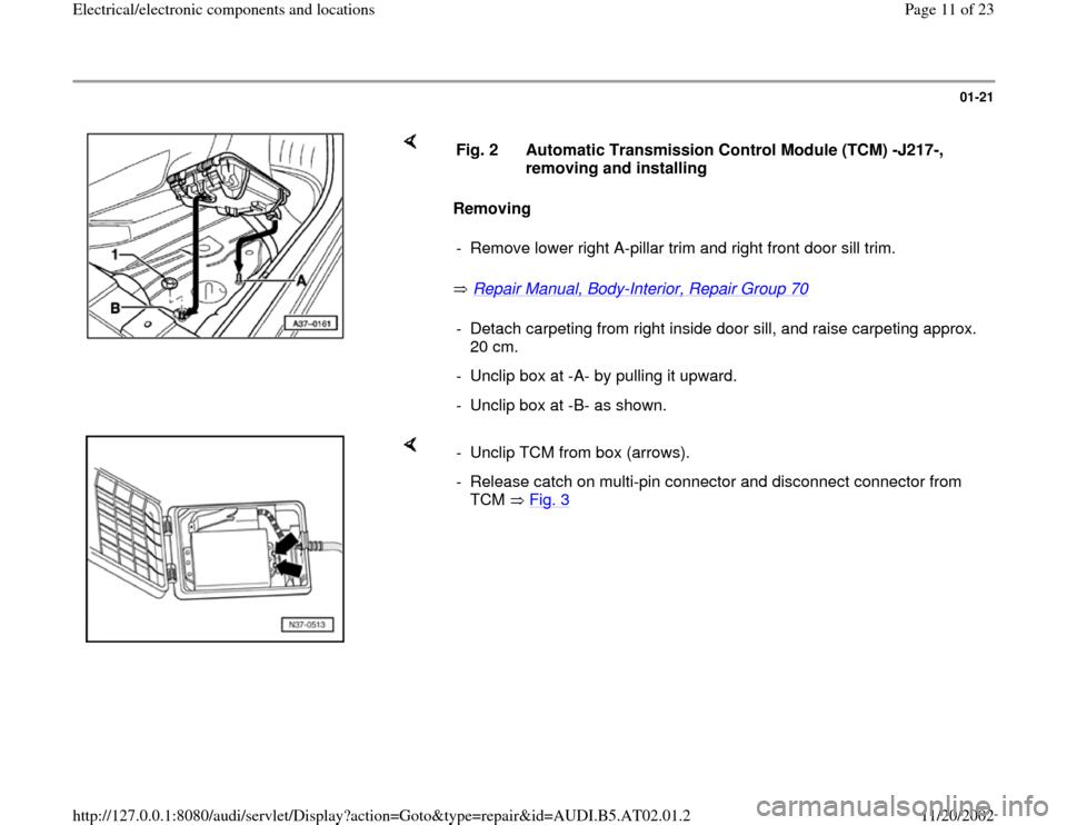 AUDI A6 1997 C5 / 2 G