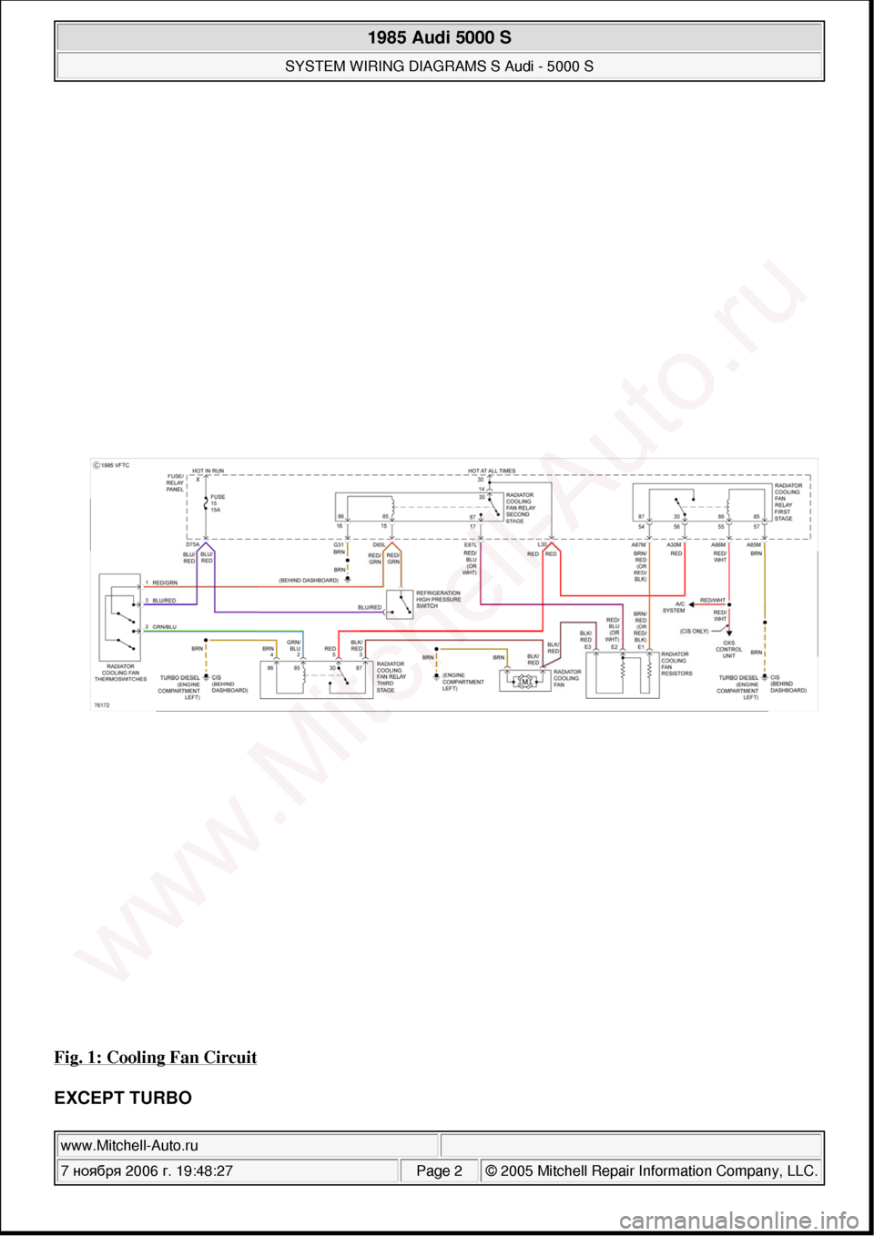 Audi 5000 Wiring Diagram Libraries Citroen C2 Mk2 Fuse Box 5000s 1985 System Diagramaudi 1